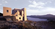 couvelas architects erects the house of the winds in santorini - designboom | architecture