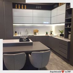 Browse photos of Small kitchen designs. Discover inspiration for your Small kitchen remodel or upgrade with ideas for organization, layout and decor. Kitchen Room Design, Kitchen Cabinet Design, Kitchen Sets, Modern Kitchen Design, Home Decor Kitchen, Interior Design Kitchen, New Kitchen, Kitchen Dining, Kitchen Island