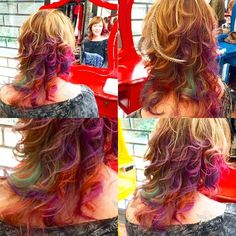 Colors by Babo Carvalho #circushair #circusaugusta #color #candy #hair #highlights #fashion #style