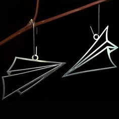 Paper Airplane Ornaments