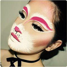 Makeup Inspo, Makeup Inspiration, Beauty Makeup, Eye Makeup, Makeup Ideas, High School Makeup, College Makeup, Halloween Looks, Halloween Face Makeup
