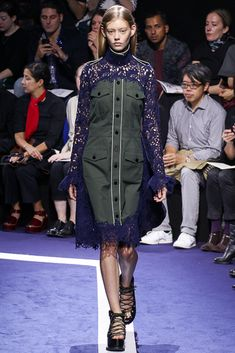 Spring 2015 Trend Report - Gallery - Style.com Sacai  Pockets of Resistance