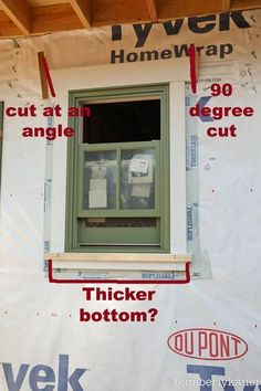 Exterior Window Trim Yes Wider A Below The Sill