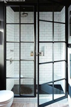 Critall doors - shower