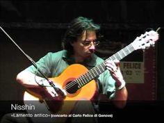 "Massimo Claus, italian guitarist and founder of Myo Edizioni, performs his song ""Lamento antico"". Live concert in Genoa, Italy."