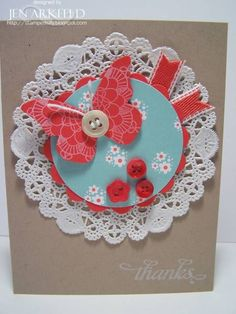 Sweet Butterfly by iafarmgirl1 - Cards and Paper Crafts at Splitcoaststampers