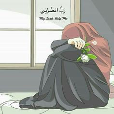 My lord please Take this pain away.You know what is wrong with me and I need you very much .My lord help me 😢 . Cute Muslim Couples, Muslim Girls, Cute Girl Wallpaper, Cartoon Wallpaper, Cute Cartoon Girl, Cartoon Art, Cover Wattpad, Muslim Images, Hijab Drawing