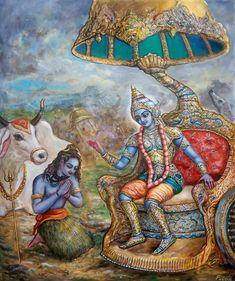 71 Best Krishna images in 2018 | Krishna, Painting, Lord krishna