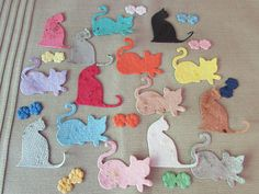 Kitty Cat Seed Paper Shape Plantable 28 by BloominFavors on Etsy