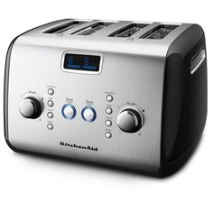 Toaster Reviews - KitchenAid KMT423OB 4-Slice Toaster with One-Touch Lif...