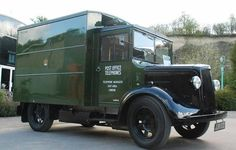 GPO   Morris van Old Commercials, Panel Truck, Vintage Vans, Train Car, Commercial Vehicle, Royal Mail, Old Trucks, Motor Car, Bristol