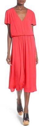 Shop Now - >  https://api.shopstyle.com/action/apiVisitRetailer?id=478629540&pid=uid6996-25233114-59 Women's Wayf Blouson Midi Dress  ...