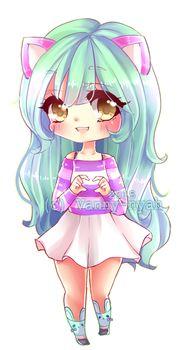 Suzuki by Vanny-nyah on DeviantArt Chibi Kawaii, Cute Anime Chibi, Cute Anime Pics, Kawaii Art, Kawaii Girl Drawings, Cute Animal Drawings Kawaii, Cute Drawings, Anime Art Girl, Manga Girl