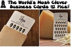 The World's Most Clever Business Cards