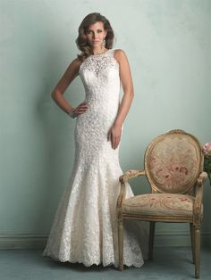 Allure Wedding Dresses and Gowns Allure Bridals 9154 Allure Bridal One Enchanted Evening - Designer Bridal, Pageant, Prom, Evening & Homecoming Gowns Wedding Dresses 2014, Wedding Dress Shopping, Wedding Dress Styles, Wedding Attire, Bridal Dresses, Wedding Gowns, Wedding Bells, Lace Wedding, Wedding Album