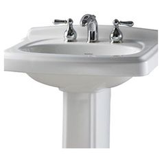 Customer Image Zoomed. American StandardPortsmouthPedestalSinksWashbasin