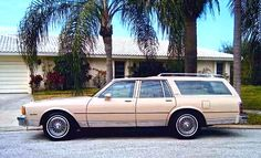 Chevrolet 1981 Caprice Classic Station Wagon.