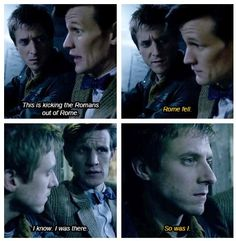 And that's when you realize Rory is older than the Doctor.