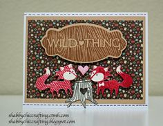 Shabby Chic Crafting: CTMH Wild About Love