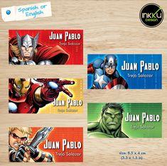 Los vengadores invitación,Marvel Los Vengadores, superhéroes, S.H.I.E.L.D., Marvel Comics, Capitan America, Hulk, Thor, Iron Man