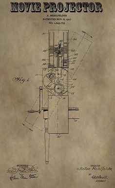 Movie Projector Patent