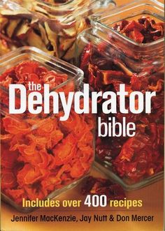 Incorporate the age-old practice of food dehydration into your life with The Dehydrator Bible. Find over 400 recipes, food dehydrator instructions and more. A Food, Good Food, Yummy Food, Cooking Food, Cooking Supplies, Cooking Bacon, Cooking Wine, Freezer Cooking, Cooking Classes