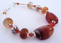Autumn Light Carnelian  Bracelet £19.00