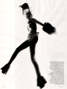 """Raquel Zimmermann in """"Refined Rebel"""" by Nick Knight for Vogue UK November 2010"""