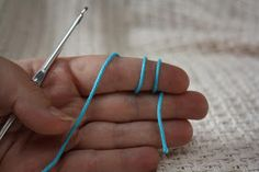 How To Crochet a Heart: Magic Sliding Loop Ring.. {a re-do}