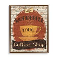 Top Shelf Coffee Ii Wall Art