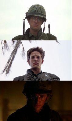 Private/Sergeant  Joker(Stanley Kubrick's Full Metal Jacket)