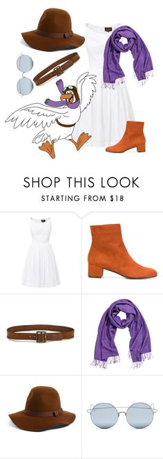 """""""The Rescuers: Orville"""" by madalynofandalasia on Polyvore featuring Vivienne Westwood Anglomania, Disney, L'Autre Chose, Paige Denim, Brixton and For Art's Sake"""