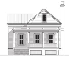 Coastal Home Plans - Braemore Drive  hubby likes this one