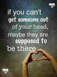 if you can't get someone out of your head, maybe they are supposed to be there | Anonymous ART of Revolution