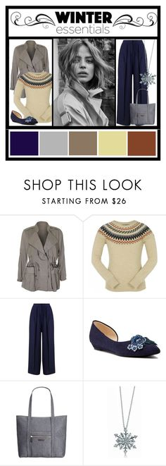 """""""Winter Essentials"""" by wildorchid21-1 ❤ liked on Polyvore featuring Miss Selfridge, Nine West, Vera Bradley, BERRICLE and polyvorepresents"""