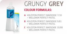 Create the Look: Grungy Grey by Koleston Perfect Innosense | Capital Hair & Beauty Ltd