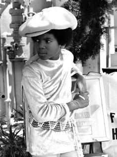 Michael Ochs - Michael Jackson, vers 1970.