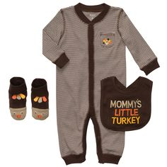 mommy's little turkey. #carters  wish i could of found this outfit little enough for our little man :)