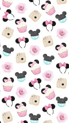 Mickey Mouse Wallpaper Iphone, Cute Wallpaper For Phone, Cute Patterns Wallpaper, Iphone Background Wallpaper, Cute Disney Wallpaper, Cute Cartoon Wallpapers, Cool Wallpaper, Arte Disney, Disney Art