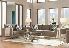 Sofia Vergara Carinthia Mineral 7 Pc Living Room . $1,699.99.  Find affordable Living Room Sets for your home that will complement the rest of your furniture.