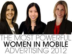 Meet The 21 Most Powerful Women In Mobile Advertising: 2012
