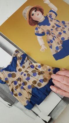 Robe ancienne Bleuette