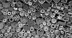 Iron and steel bars randomly placed by shop owner, photographed by Noh Keun Park © | NatGeo Photo Contest, 2012, In Focus Part II