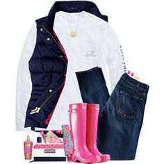 A fashion look from November 2015 featuring Vineyard Vines t-shirts, 7 For All Mankind jeans and Vineyard Vines wallets. Browse and shop related looks.