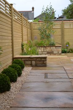 Contemporary Courtyard Gardens Ideas : Small Courtyard Garden Portfolio Design