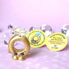 Handmade Shopkins Roxy Ring