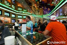 Casino Bar (Deck Located within the casino, this bar is one of the few that's open late. The casino does allow smoking. Cruise Port, Cruise Travel, Grandeur Of The Seas, Harbor Town, Us Virgin Islands, Island Tour, Shore Excursions, St Thomas, Royal Caribbean