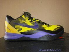 Nike KOBE 8 ELITE TOUR YELLOW BLACK COURT PURPLE Online