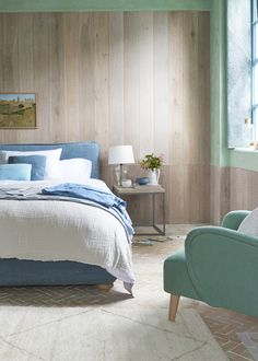 Wonder why you haven't seen a laid-back bed like this before? That's because it's fiendishly difficult to get the squish and curves absolutely bang on. White Bed Sheets, White Bedding, Cushion Headboard, French Bed, Comfy Sofa, Cushions, Pillows, Guest Suite, New Room