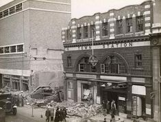Camden Town Station WW2 bomb (1)    On the 14th October 1940 during an air raid by the Luftwaffe, Camden Town Station received a direct hit. The bomb destroyed part of the northern section of the Camden High Street building. A source, quoting the Commonwealth War Graves Commission figures, puts the number of fatalities at 5, including a 16 year old lad who died later in hospital.